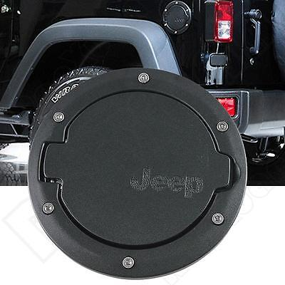 Fuel Filler Cover Gas Tank Cap For 07-15 Jeep Wrangler JK Unlimited 2&4 Doors