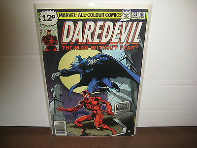 Daredevil 158 ▪ Key Issue ▪ 1st Frank Miller ▪ A Grave Mistake ▪  VFN