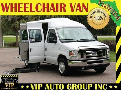 2014 Ford E-Series Van  2014 Ford Handicap Wheelchair Van Power Side Ramp Mobility Side Lift