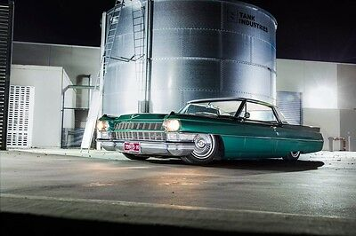 1964 cadillac coupe Deville 429 7.0 V8 airbag suspension chev ford buick custom