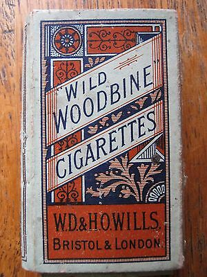 Cigarette Packet 'wild Woodbine  ( For 10 Cigarettes ) Wd & Ho Wills