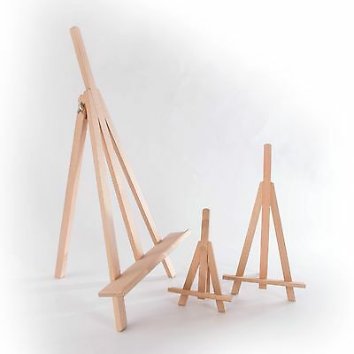 Luxury Small Wooden Easel Stand/ Mini Table Desktop Art Wedding Photo Display