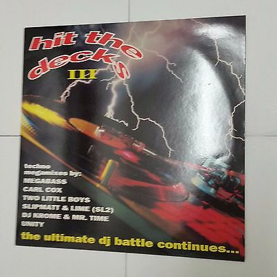 "Hit The Decks III - The Ultimate DJ Battle Continues 12"" Vinyl Old Skool 1992"