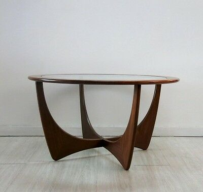 G-Plan Vintage Original Astro Round Coffee Table By Victor Wilkins -1960s