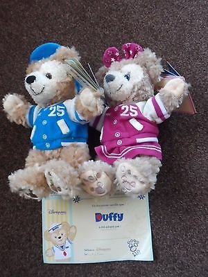 EXCLUSIVE 25th Anniversary Disneyland Paris  Duffy The Disney Bear + Shelliemay