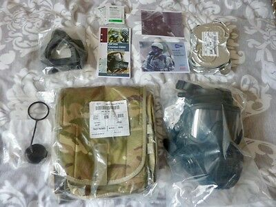 General Service Respirator size medium 3/3 with accessories **NEW**