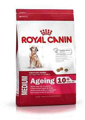 Royal Canin Size Health Medium Ageing 10+ Dog Food For Adult Senior Mature 15kg