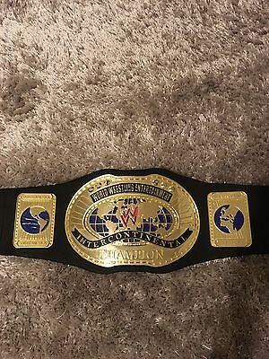 WWE WWF Jakks Pacific Intercontinental Wrestling Title Belt Rare