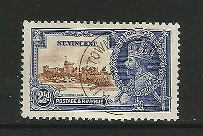 St.Vincent  1935  SG.144  Silver Jubilee  used