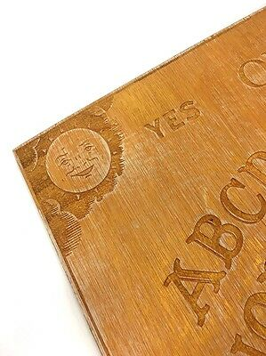 Ouija Board Wooden Traditional Style Egyptian Gold edition