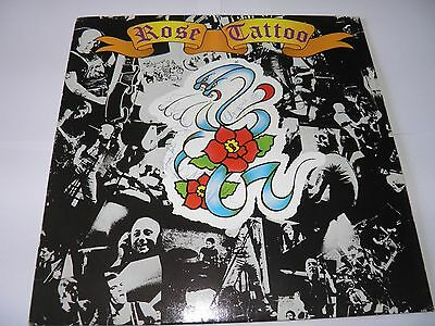 Rose Tattoo  -  1st LP  FULLY SIGNED in 1981 Euro First Press SUPERB RARE
