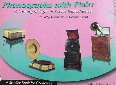 Phonographs with Flair: A Century of Style in Sound Reproduction Signed!
