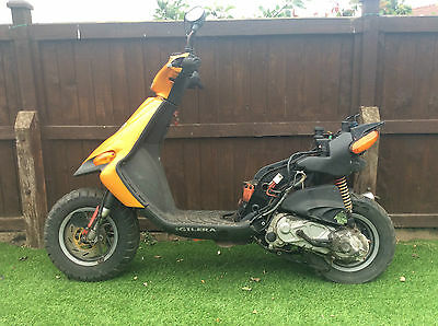 Gilera stalker spares or repairs project barn find