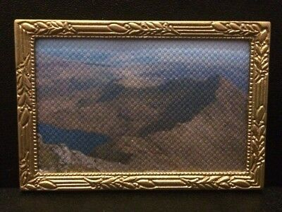 Dollshouse 12th scale canvas framed print - Snowdonia Mountain View