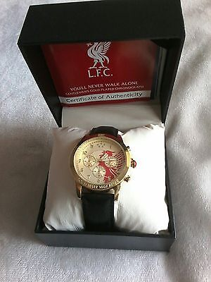 BRADFORD EXCHANGE Liverpool FC  LFC CHRONOGRAPH MENS WATCH  Officially licensed.