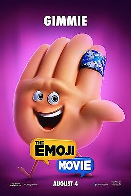 Large A1 plus The Emoji Movie Gimmie  Poster Print