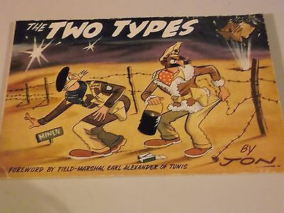 The Two Types 1960 cartoon strips originally published in Union Jack