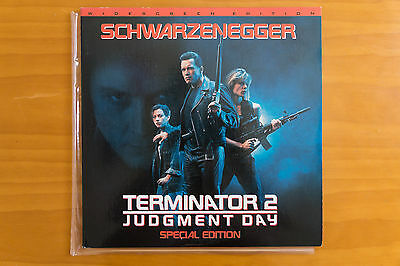 Terminator 2 Judgement Day Special Edition LaserDisc LD Dolby Surround NTSC