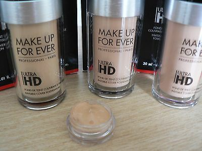 ❤❤ MAKE UP FOREVER Professional Invisible Cover Ultra HD Foundation 2ml Sample❤❤