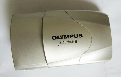 Olympus mju-II Large Aperture, F2.8 35mm lens SPARES OR REPAIR