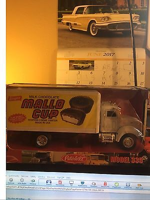 Boyer Candy Mallo Cup 1:43 Die Cast Delivery Truck-NICE!!