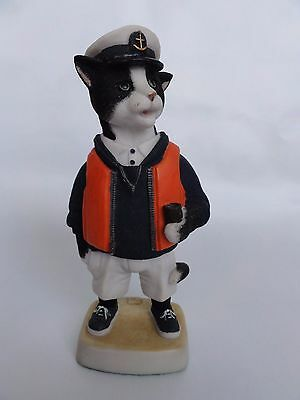 Robert Harrop The Seafarer Black & White Purrfect People PP15a