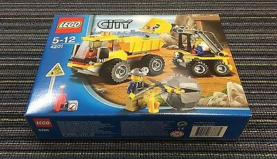 LEGO City Loader and Tipper 4201 - new in sealed box