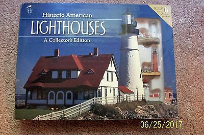 Historic American Lighthouses - Miniature Lighthouses Set