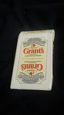 William Grants Finest Scotch Whiskey Playing Cards