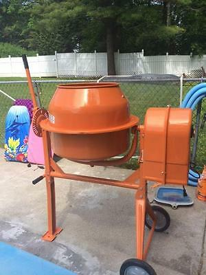 Central Machinery® 3-1/2 Cubic Ft. Cement Mixer NWOB