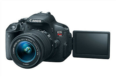 Canon EOS Rebel T5i with 18-55mm IS STM Lens 18 MP DSLR Camera