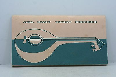 Vintage Girl Scout Pocket Songbook 1956 - 56 Pages