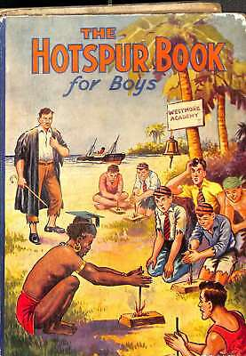THE HOTSPUR BOOK FOR BOYS 1937, Good Condition Book, Anderson, Warwick, ISBN