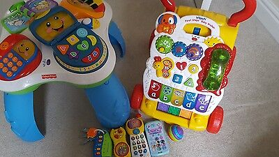 Bundle of toys Fisher Price and Vtech
