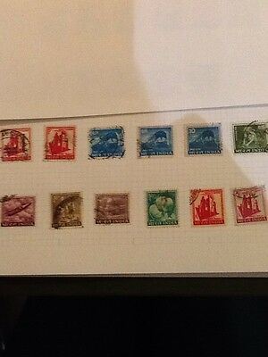 Lot 12 India stamps 0.10, 10 electric locomotive, gnat tea, family planning