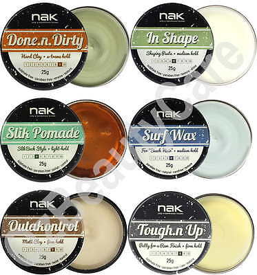 Nak Hair Wax 25g Assorted