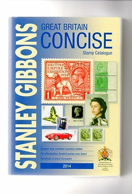 Gb Concise Stamp Catalogue 2014