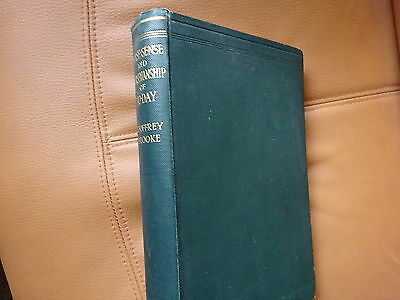 1924 HORSE-SENSE and HORSEMANSHIP of TODAY by G BROOKE  HB HUNTERS & POLO PONIES