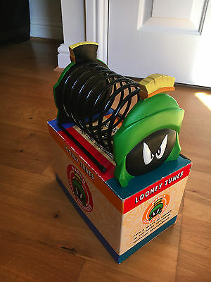 NEW Marvin the Martian Organizer DVDs Letters Mail Looney Tunes Warner Bros 1995