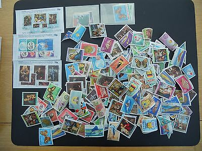 Panama stamps mainly colourful C2O thematics. Quantity. Moderate duplication.
