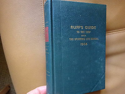 RUFF'S GUIDE to the TURF and THE SPORTING LIFE ANNUAL 1964