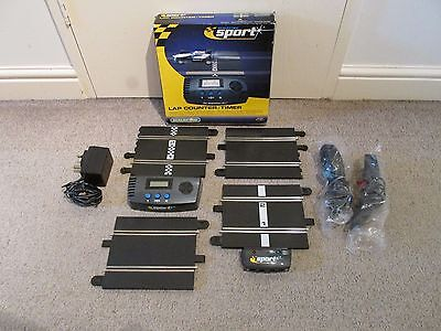 Scalextric Classic to sport Digital lap counter C8215 track converter set.