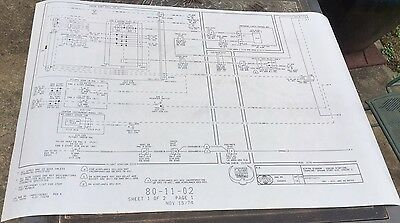 30 Schematics For Various Operations Of The 3 Engines Of A TWA L-1011 Tristar