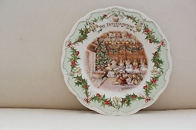 Royal Doulton Brambly Hedge Plate - The Entertainment - 1986 - Unboxed