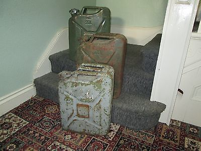 3 X Jerry Fuel Cans
