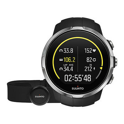 Suunto Spartan Sport Black (Hr) - Neuheit Touchscreen Gps Bluetooth Multisport