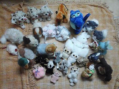 Gros Lot 31 Peluches Divers