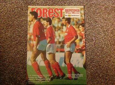 The game that saved Sir Alex Ferguson?? Forest v United FA Cup 3rd round 1990