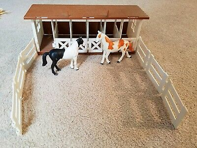 GRAND CHAMPIONS vintage  HORSE LOT MIXED horses FUNRISE STABLE w PINTO / MUSTANG