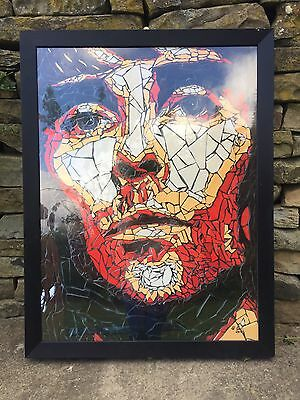 Large Stone Roses Ian Brown Mosaic High GLoss Picture. Genuine Print.